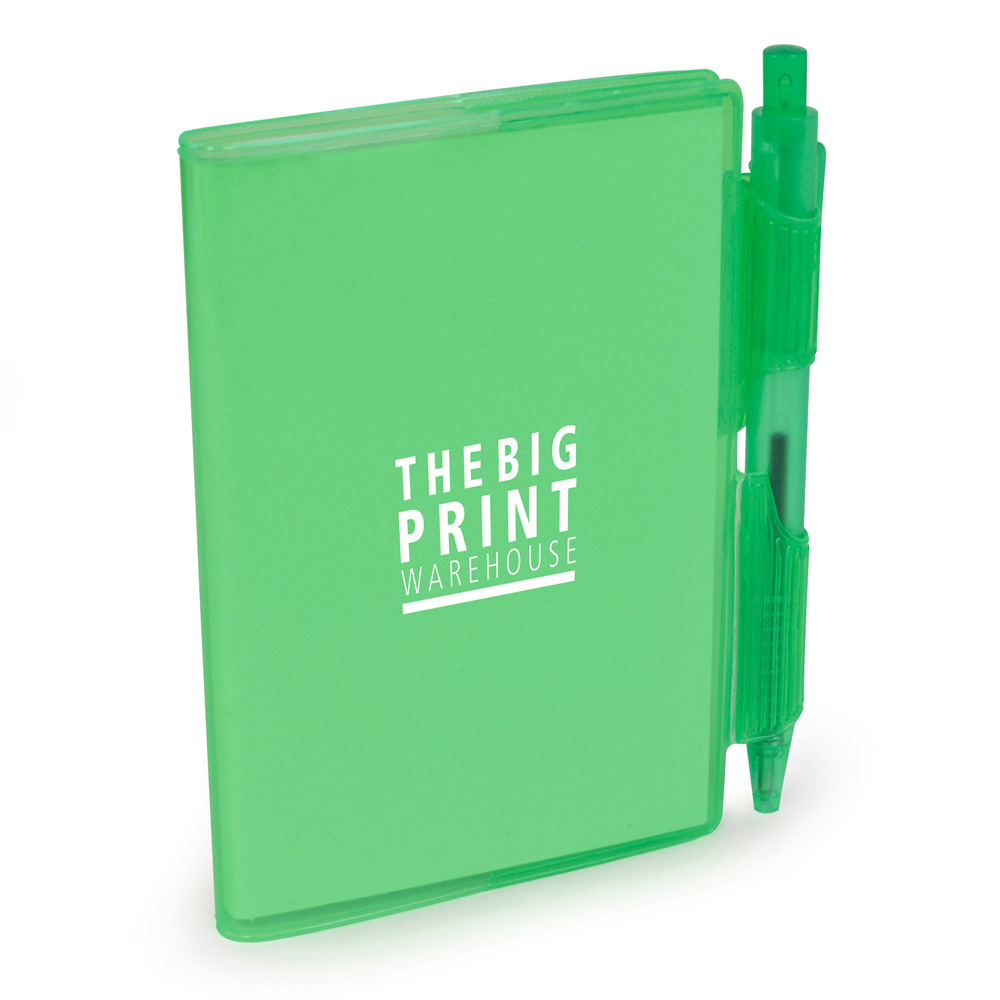 A7 PVC NOTEBOOK AND PEN